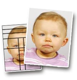 biometrisches Passbild für Kinder