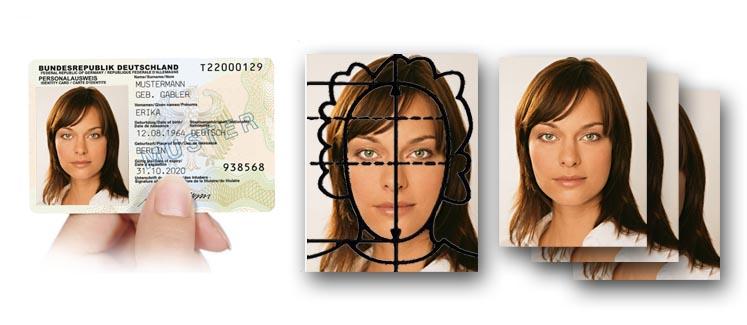 biometrische Passbilder für den Personalausweis
