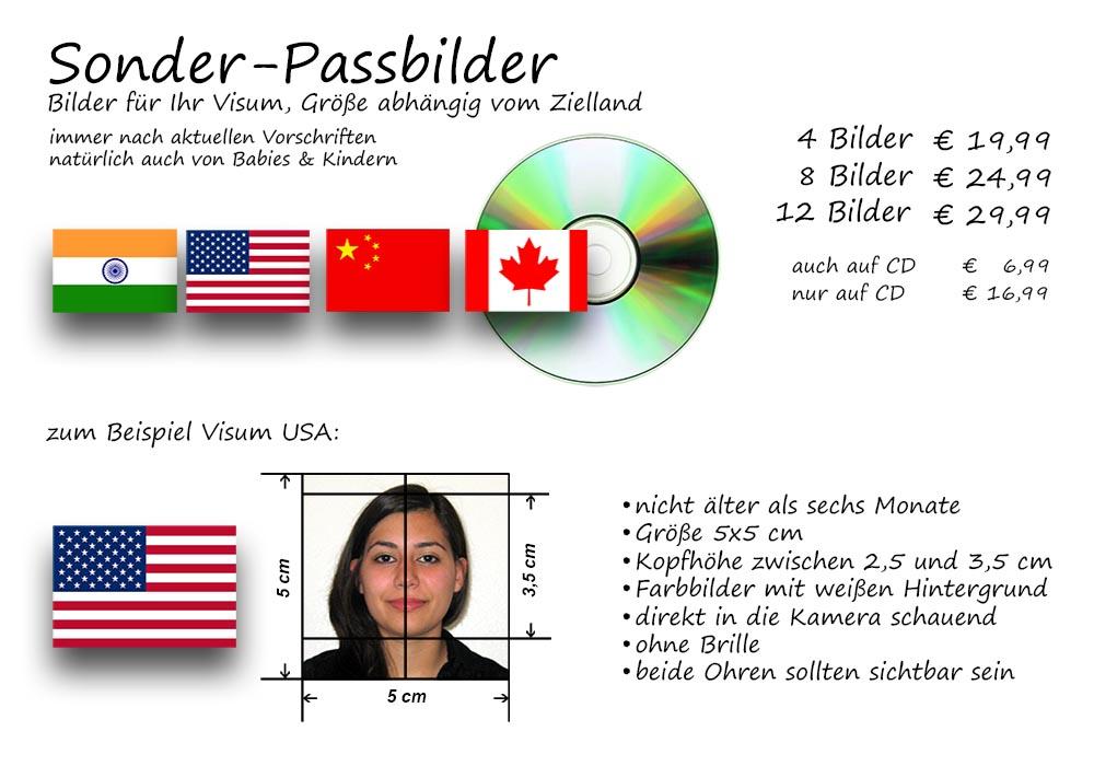 Sonder Passbilder